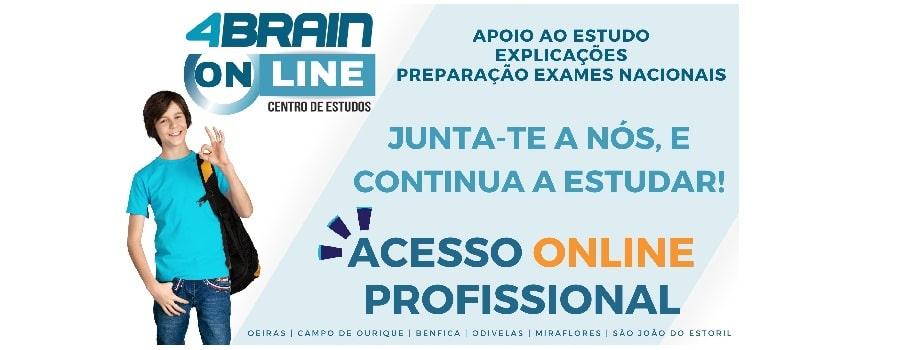 online centro de estudos, explicações Online ou Presenciais preparação para exames apoio online